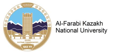 アルファラビ・カザフ国立大学のロゴ